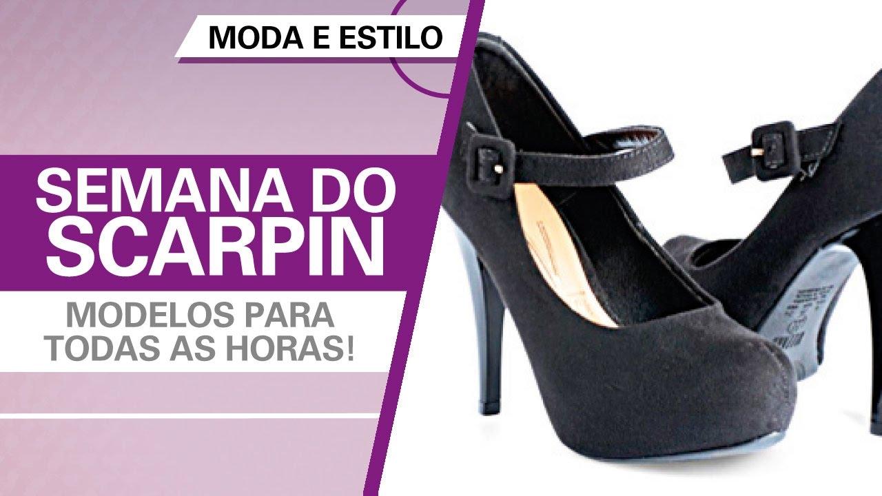 d1b4249186 Semana do scarpin - modelos para todas as horas! - YouTube