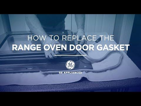 GE Appliances Oven Door Gasket Installation Instructions