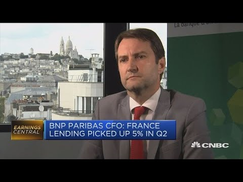 BNP Paribas financial services offset weakness in investment bank | Squawk Box Europe