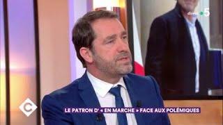 Le patron d'En Marche face aux polémiques - C à Vous - 13/02/2018