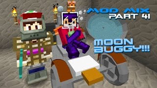 Modded Minecraft - Galacticraft Moon Buggy [41]