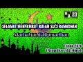 Video singkat,kata kata Sambut Bulan Suci Ramadhan 2020