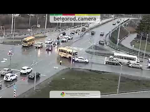 ДТП на перекрёстке Губкина/Магистральная.