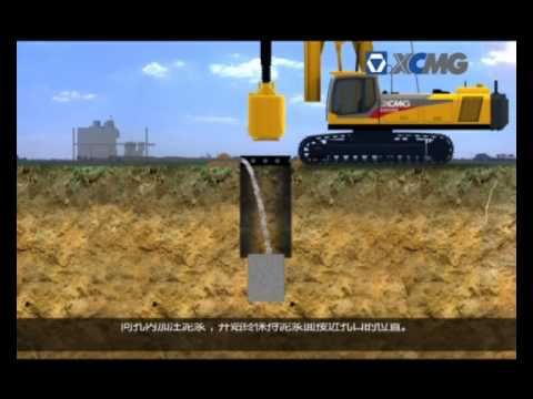 Construction Piles foundation machinery - Cliver Arandia - SINOPEC INTERNATIONAL PETROLEUM SERVICE