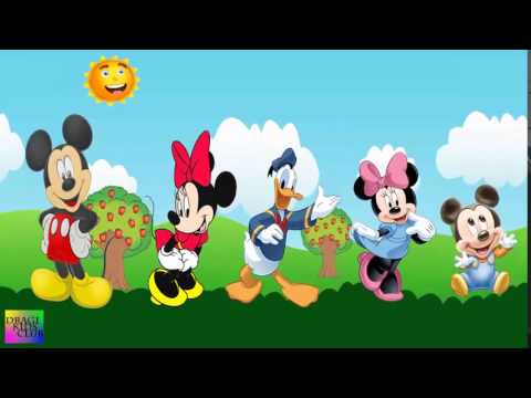 Finger Family Mickey Mouse Clubhouse | Daddy Finger Song | Mickey Mouse Nursery Rhymes Cartoon