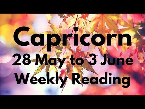 CAPRICORN MAY 28-JUNE 3 2018 - POWERFUL TRANSFORMATION HAPPENING!