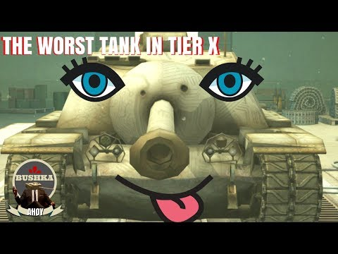 THE WORST TANK IN TIER X WORLD OF TANKS BLITZ