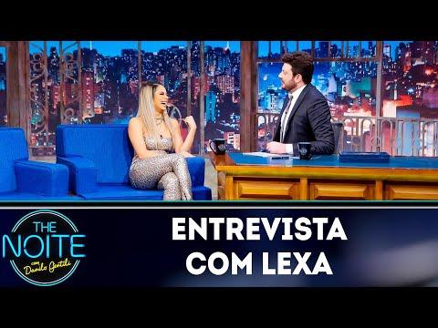 Entrevista com Lexa  The Noite 090419