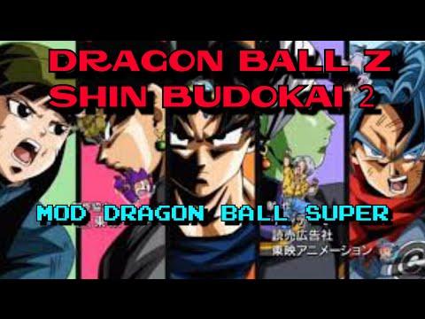 DBZ Shin Budokai 2 mod Dragon Ball Super v2.1 Download