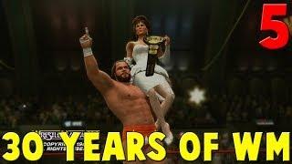 WWE 2K14 30 Years Of WrestleMania Walkthrough Part 5 - Macho Man Randy Savage vs Ted DiBiase