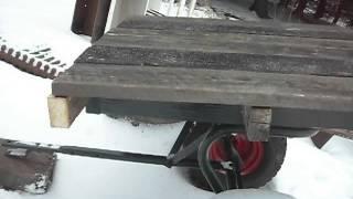 Garden Tractor Cart Pt.4