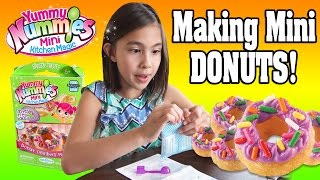 MAGICAL MINI DONUTS!!! Just Add Water!  Yummy Nummies Mini Kitchen Magic!