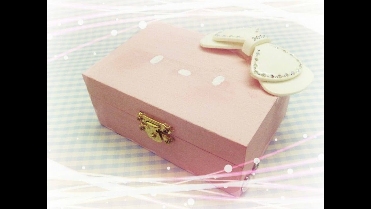 Easy DIY Jewelry Box YouTube