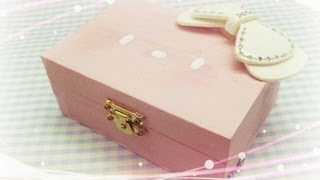 Easy Diy- Jewelry Box