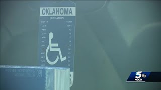 Thief takes off with 68-year-old Norman woman's handicap car placard