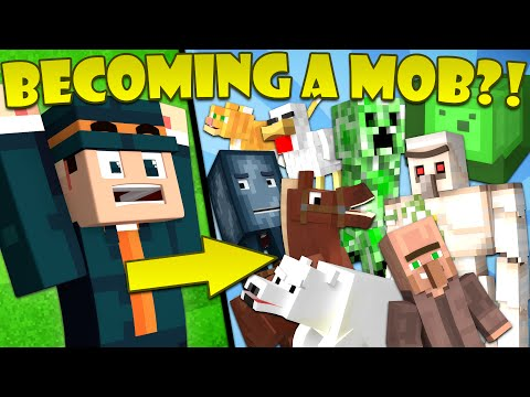 Thumbnail: If You Could Turn Into ANY Mob - Minecraft
