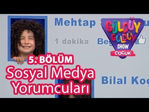 Güldüy Güldüy Show Çocuk 5. Bölüm,  Sosyal Medya Yorumcuları