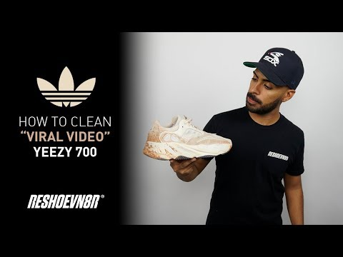 Vick Almighty Cleans #Yeezy 700s With #Reshoevn8r! Featuring Stella the Dog and Unruly Kyle