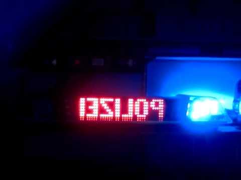 pintsch bamag zirkon led lichtbalken blaulicht polizei youtube. Black Bedroom Furniture Sets. Home Design Ideas