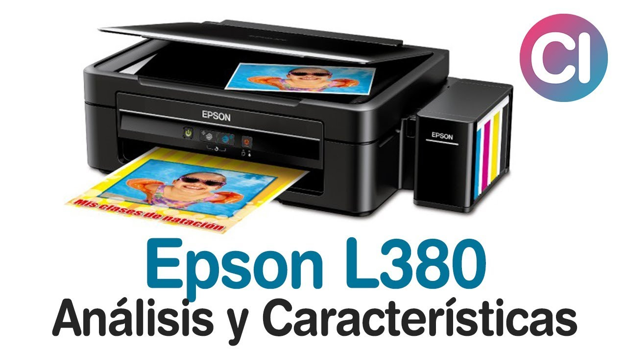 Impresora Multifuncional Epson L380 An 225 Lisis Y