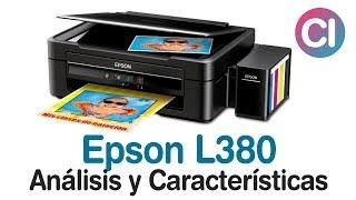 Impresora Multifuncional Epson L380 (Análisis y Características)