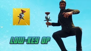 The Dumbest Clinger Grenade Kill (Low-key OP) Fortnite Funny Moments - Destroying Noobs in Solo