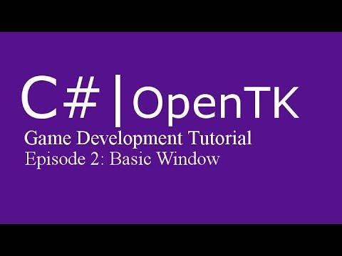 Game Development Tutorial with c# (& OpenTK) | Episode 2: Basic Window thumbnail