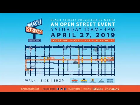 Beach Streets comes to Pacific Ave. on April 27th!
