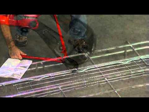 cablofil cutting wire mesh cable tray youtube. Black Bedroom Furniture Sets. Home Design Ideas