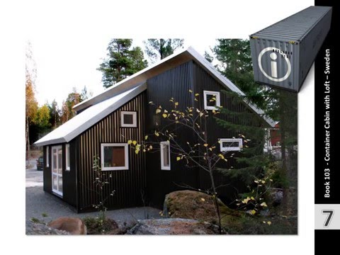 Shipping Container Homes Book 103 Container Cabin Sweden