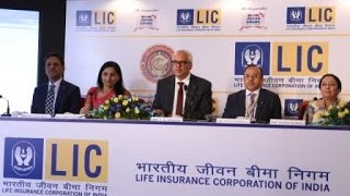 Shri V.K.Sharma, Chairman, LIC, addressing Press Conference on 16th May 2017. (complete version)