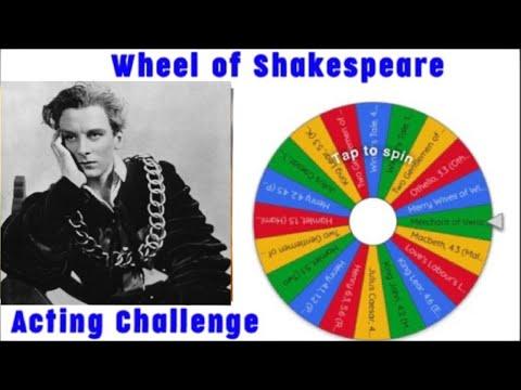 11/28 Wheel of Shakespeare Challenge