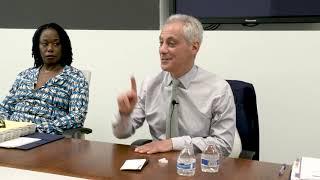Mayor Rahm Emanuel on Elon Musk and the future of Chicago transportation