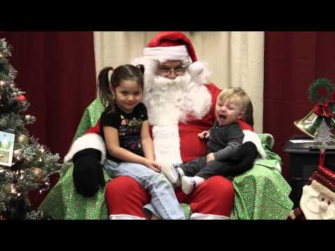 Randi West - A trip to see Santa isn't always happy
