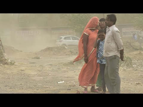 India dust storm killed 80, injured 143