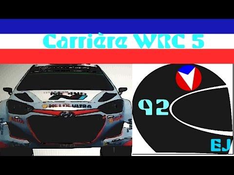 WRC 5 l PS3 | French Gameplay | #1 Test/Découverte et début de carrière