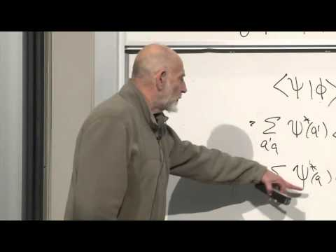 Lecture Video 8 Of The Theoretical Minimum Quantum Mechanics By
