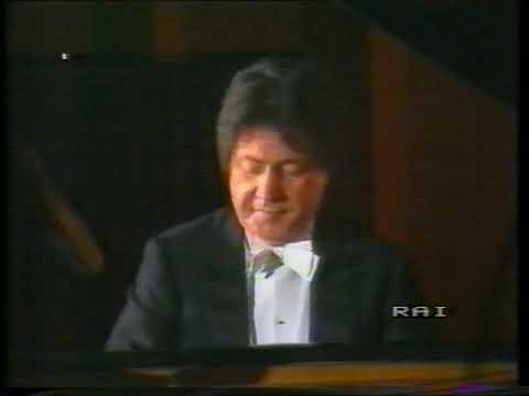 Recital pianistico del M° Sergio Perticaroli - RAI Tv 1985
