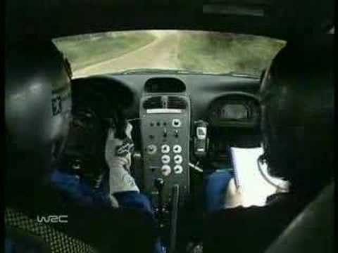 peugeot 206 simulator driving