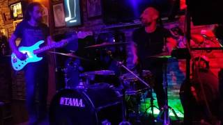 Deep blue bar Fethiye . Band white noise . Drum solo absolutely awesome