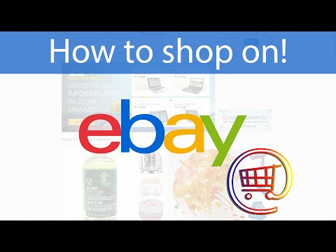 How to Buy On Ebay  (really easy)