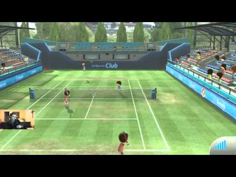 Wii Sports Club - Tennis MASTER (funnyimo)
