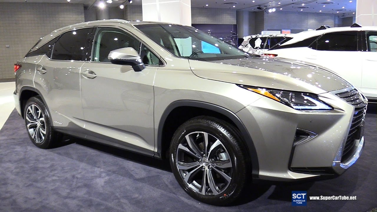 2017 Lexus Rx 450h Exterior And Interior Walkaround New York Auto Show