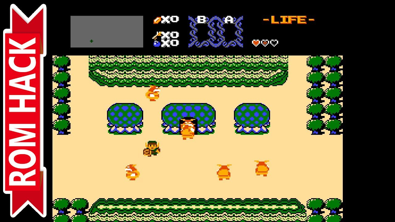 The Legend of Zelda: Outlands (NES ROM Hack) | RetroArch Emulator [1080p /  60 FPS] | Nintendo NES