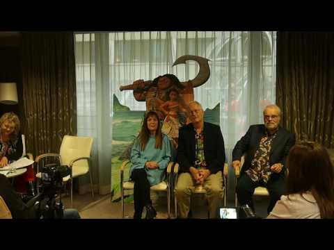 Moana (Vaïana): round table with Ron Clements, John Musker, Osnat Shurer