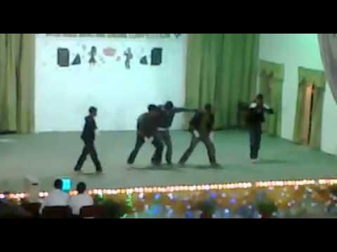 english with bhangra dance
