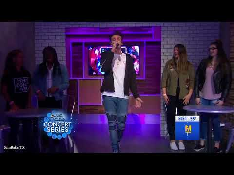 Trust Fund Baby - Why Don't We - Live on Good Morning America 25/04/2018