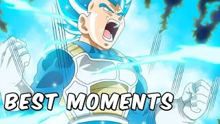 BEST VEGETA MOMENTS in Dragon Ball Super