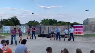 Aggie Wranglers at Delta Gamma Backyard BBQ 2019