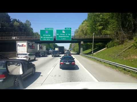 BigRigTravels LIVE! Union City to Atlanta to East Point, Georgia-April 19, 2018